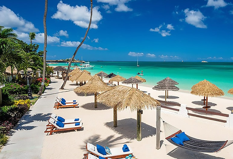 Sandals Grande Antigua - ALL INCLUSIVE Couples Only, Σεντ Τζονς, Premium Σουίτα, 1 Υπνοδωμάτιο, Θέα στη Θάλασσα (Caribbean Beachfront Butler Rondoval), Δωμάτιο επισκεπτών
