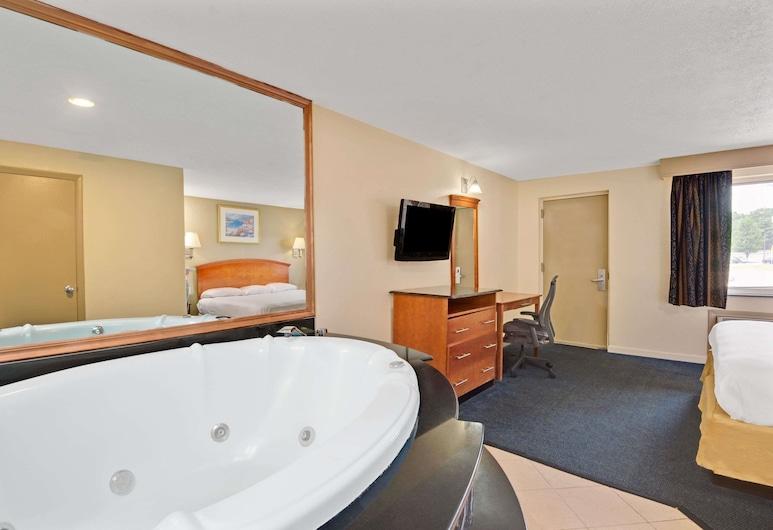 Super 8 by Wyndham Milford/New Haven, Milford, Studiosuite, 1King-Bett, Nichtraucher, Zimmer