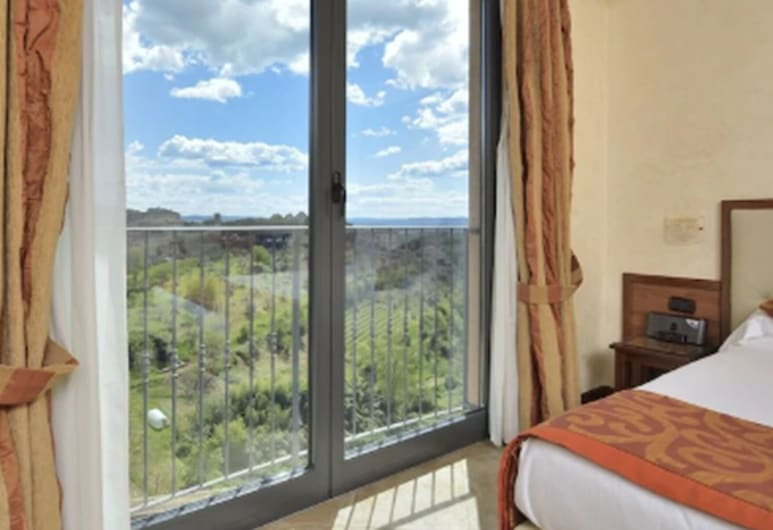 Hotel Athena, Siena, Executive dubbelrum eller tvåbäddsrum, Utsikt från gästrum