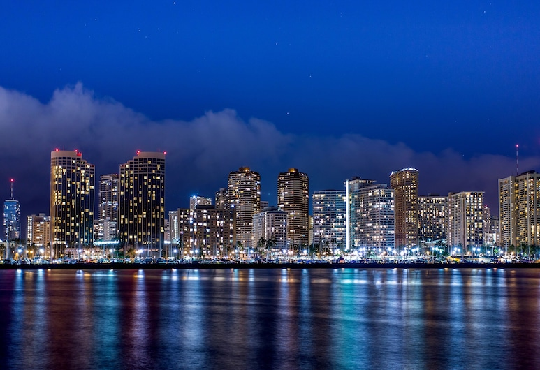 Waikiki Monarch Hotel, Honolulu, Strand