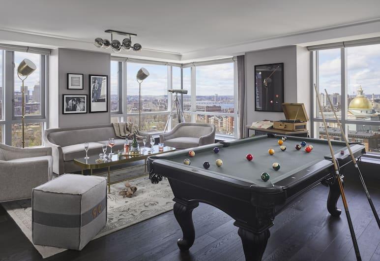 Kimpton Nine Zero Hotel, Boston, Suite, 1 kingsize bed (Penthouse Suite), Kamer