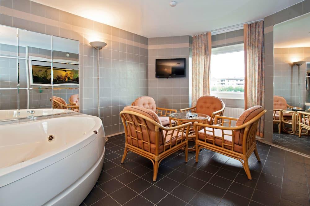Suite, 2Schlafzimmer, Nichtraucher, Whirlpool - Whirlwanne