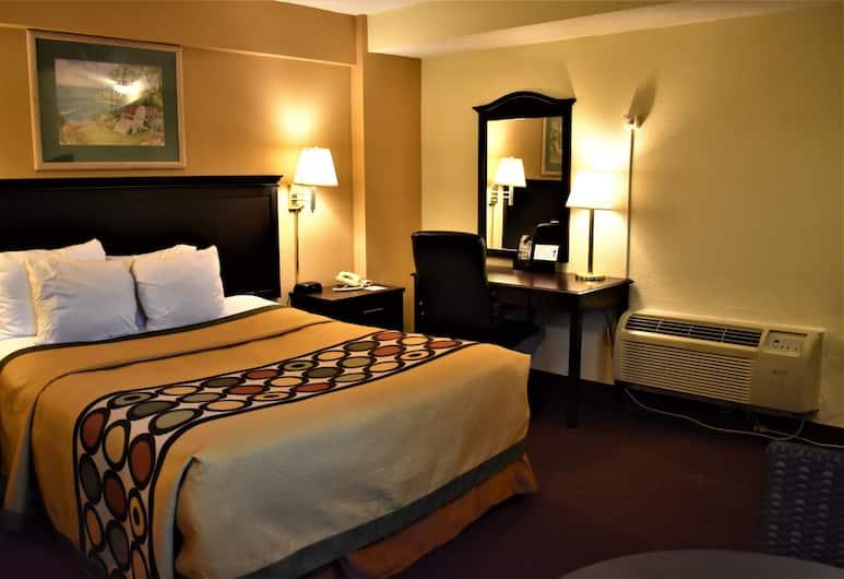 Super 8 by Wyndham Atlantic City, Atlantik Sitis, Standartinio tipo kambarys, 1 didelė dvigulė lova, Svečių kambarys