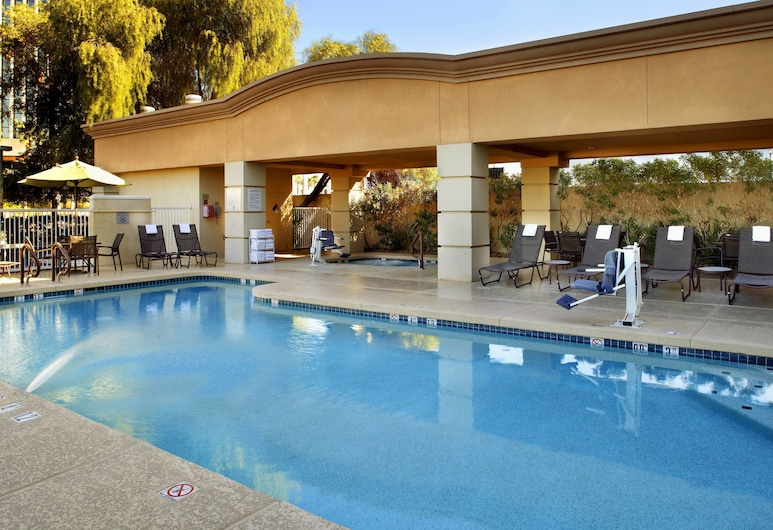 Fairfield Inn & Suites by Marriott Phoenix Midtown, Phoenix, Vanjski bazen