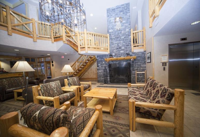 Brewster's Mountain Lodge, Banff, Sala de estar en el lobby