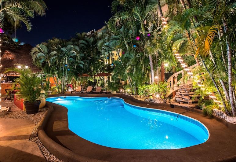 Aventura Mexicana Hotel, Playa del Carmen, Kolam Renang Luar Ruangan