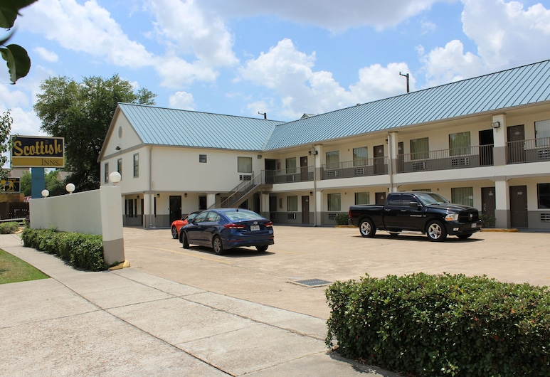 Scottish Inns Westcott Street, Houston, Fachada del hotel