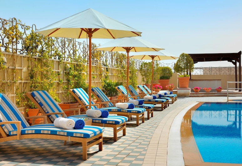 Marriott Executive Apartments Dubai Creek, Dubai, Outdoor Pool