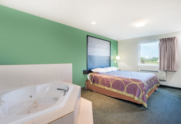 Super 8 by Wyndham Hagerstown/Halfway Area, Hagerstown, Suite, 1 très grand lit, non-fumeurs (One Bedroom), Chambre