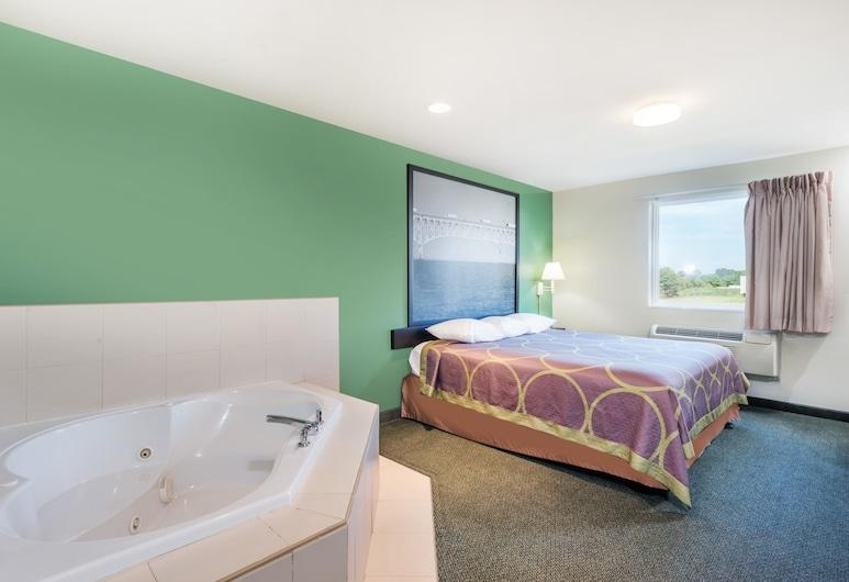 Super 8 by Wyndham Hagerstown/Halfway Area, Hagerstown, Apartament typu Suite, Łóżko king, dla niepalących (One Bedroom), Pokój