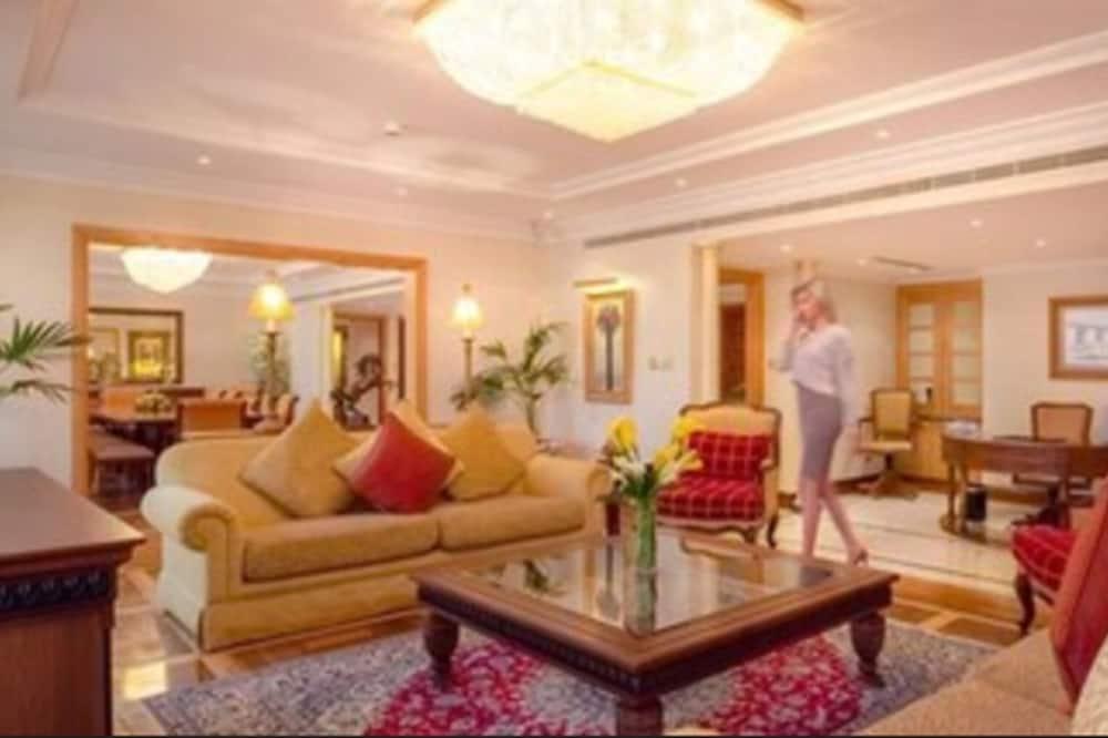 Suite junior (Arabian Gulf view) - Sala de estar
