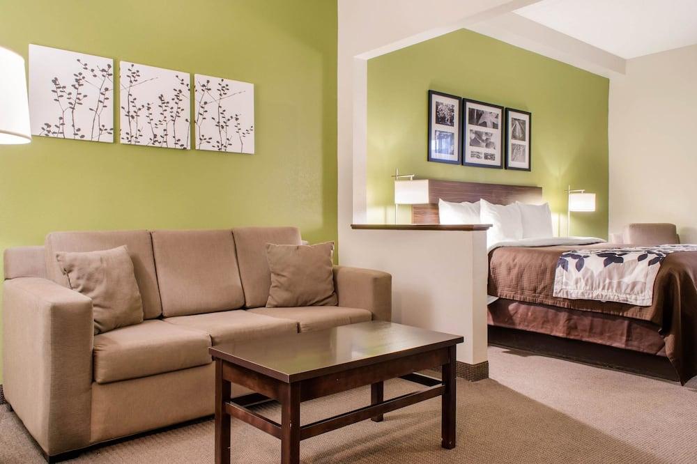 Suite, 1 cama King size con sofá cama, para no fumadores - Habitación
