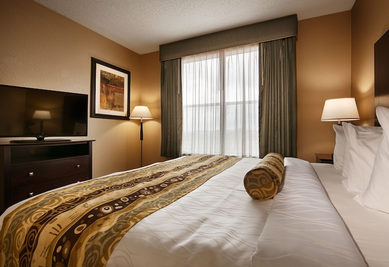 Best Western Plus Hobby Airport Inn & Suites, Houston, Standardzimmer, 1King-Bett, barrierefrei, Nichtraucher (Roll-In Shower), Zimmer
