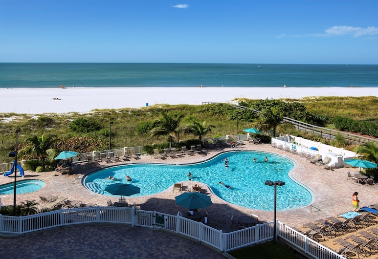 Sunset Vistas Two Bedroom Beachfront Suites, Treasure Island, Outdoor Pool