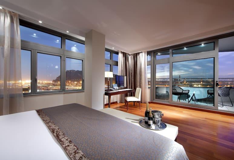 Eurostars Grand Marina, Barcelona, Suite – grand, Gjesterom