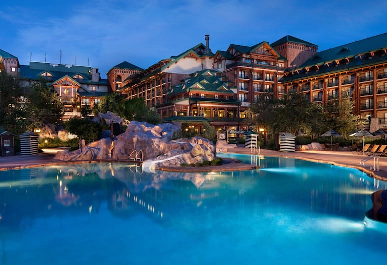 Disney's Wilderness Lodge, Lago Buena Vista, Piscina externa