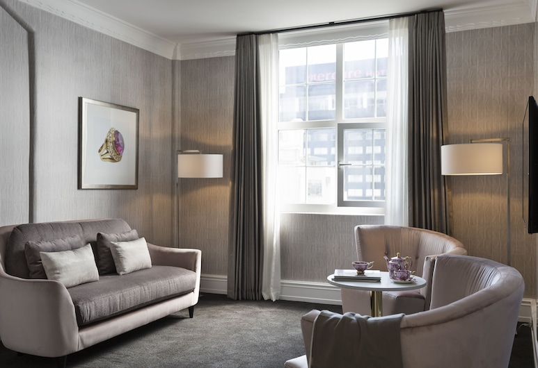 Hotel Grand Windsor MGallery by Sofitel, Auckland, Suite – junior, Oppholdsområde