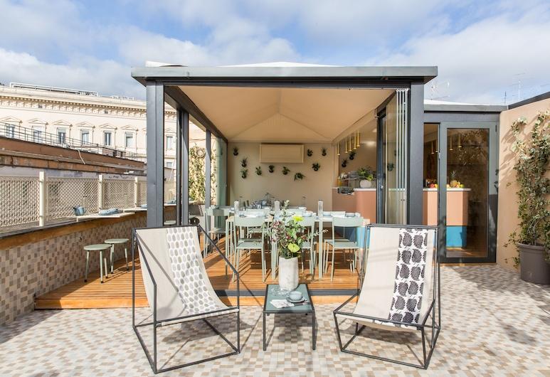 Condominio Monti Boutique Hotel, Rom, Terrasse/Patio