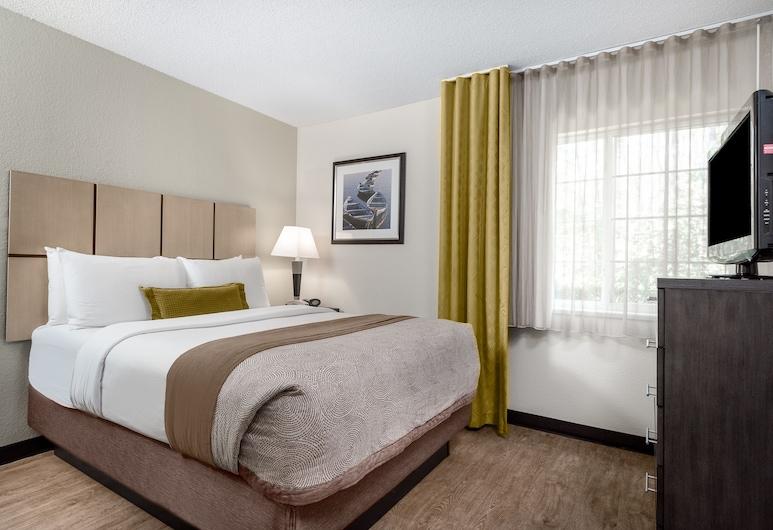 Candlewood Suites Charlotte - Arrowood, Charlotte, Habitación, 1 habitación, con acceso para silla de ruedas (Hearing, Mobility, Roll-In Shower), Habitación