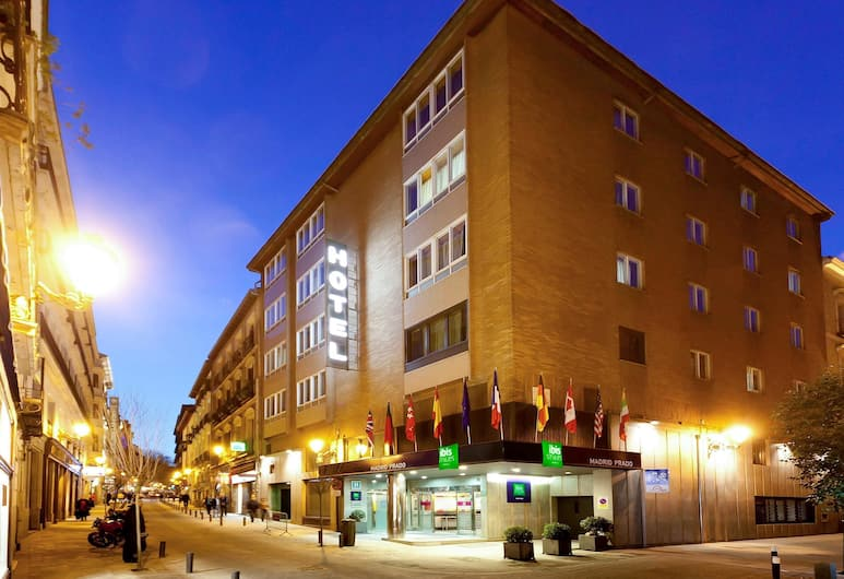 Hotel ibis Styles Madrid Prado, Madrid, Hotel Front