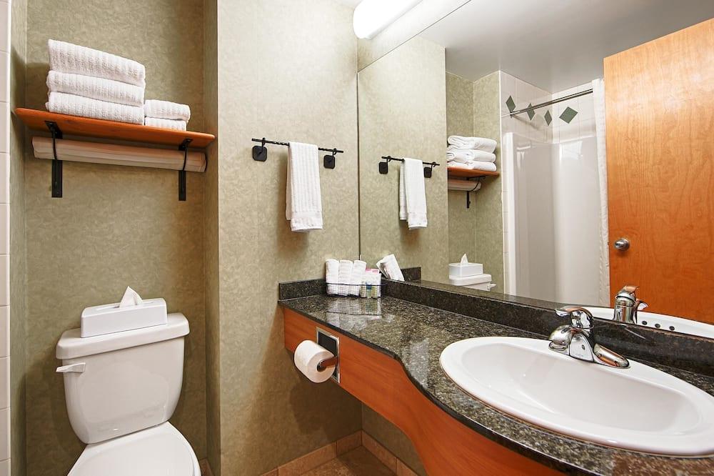 Standard-huone, 2 keskisuurta parisänkyä, Tupakointi kielletty (Pet Friendly) - Kylpyhuone