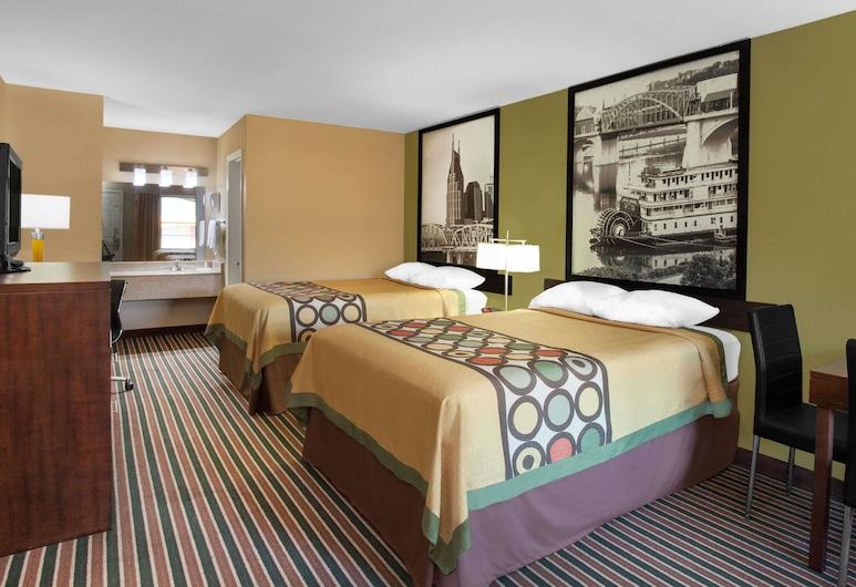 Super 8 by Wyndham Nashville West, Nashville, Habitación doble, 2 camas dobles, para fumadores, Habitación