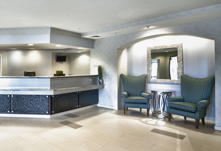 SpringHill Suites Manchester-Boston Regional Airport, Manchester, Lobby