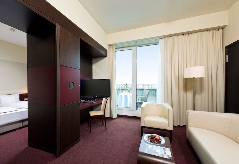adrema hotel, Berlin, Süit, Oturma Odası