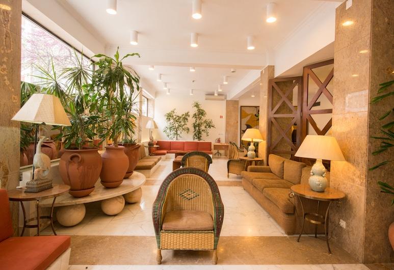 Amazonia Lisboa Hotel, Lisbona, Salottino della hall