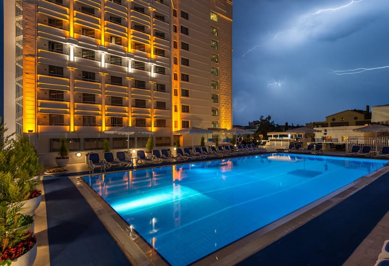 Best Western Plus Khan Hotel, Antalya, Pool-Wasserfall