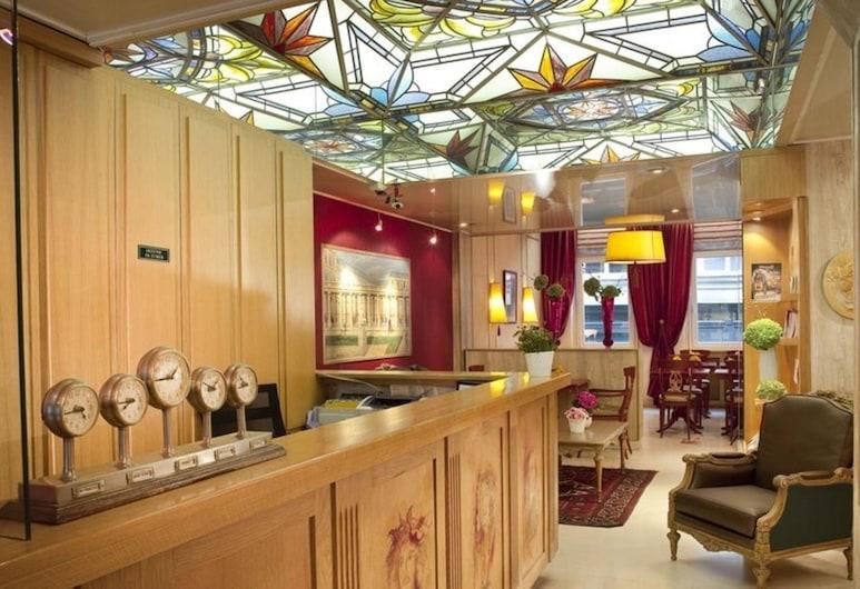 巴黎蒙龐西耶酒店, 巴黎, 櫃台