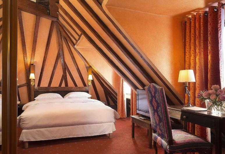 Hotel Europe Saint Severin Paris, Paris, Quarto Duplo Deluxe, Vista, Quarto