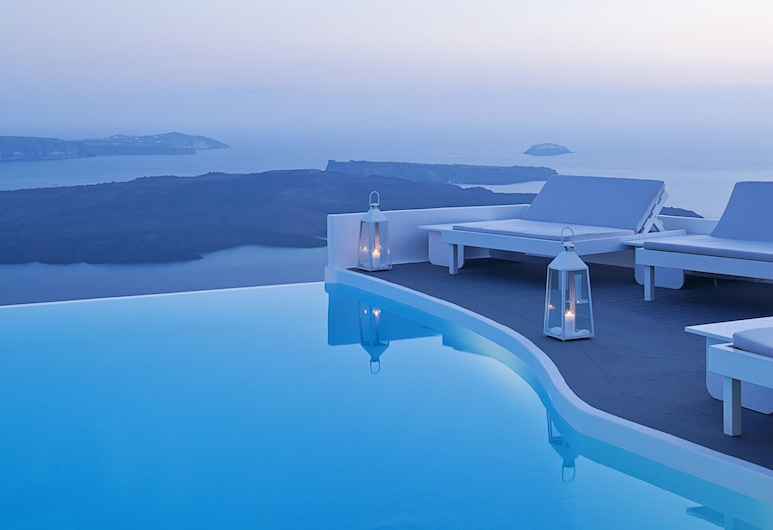 Katikies Chromata Santorini - The Leading Hotels of the World, Santorini, Utendørsbasseng