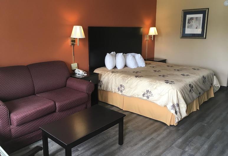 American Inn  - Pontotoc, Pontotoc, Habitación, 1 cama King size, para no fumadores (Deluxe), Habitación