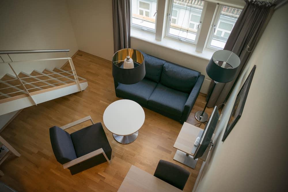 สแตนดาร์ดอพาร์ทเมนท์, 1 ห้องนอน - ห้องนั่งเล่น