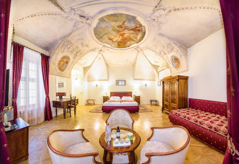 Hotel Élite Prague, Prag, Junior Süit, Oturma Alanı