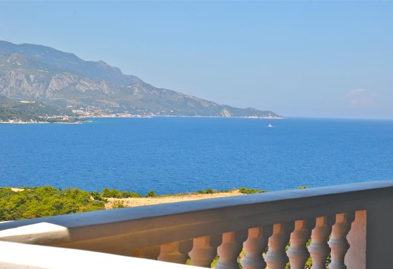 Ino Village, Samos, Chambre Double Deluxe, vue mer, Balcon