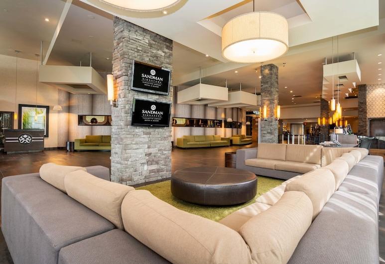 Sandman Signature Vancouver Airport Hotel & Resort, Richmond, Lobby Lounge