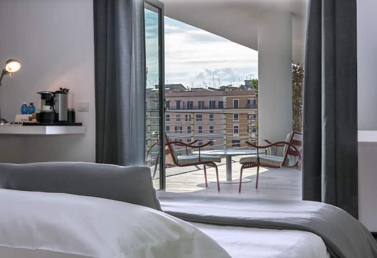 麗笙羅馬飯店, 羅馬, 普通套房, 露台, 客房