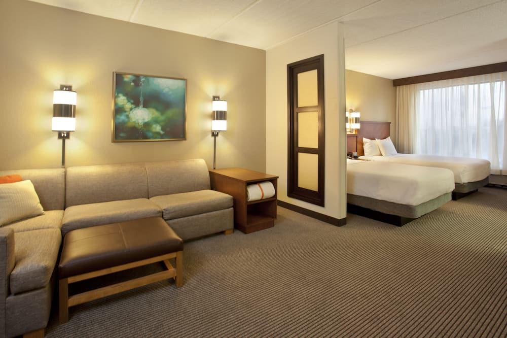 Izba, 1 extra veľké dvojlôžko s rozkladacou sedačkou (High Floor) - Hosťovská izba
