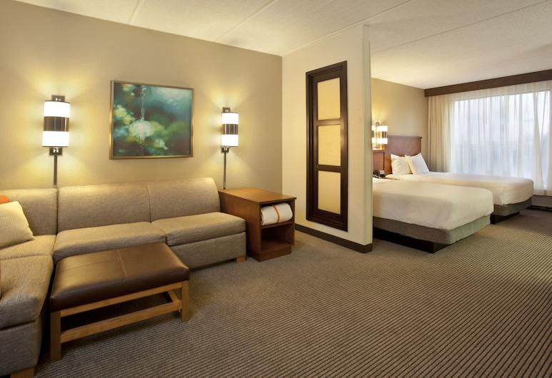Hyatt Place Atlanta Airport-North, East Point, Zimmer, 1King-Bett und Schlafsofa (High Floor), Zimmer