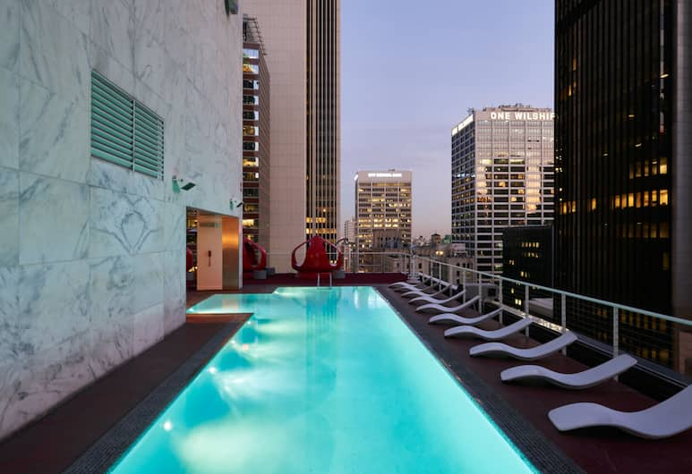 The Standard Downtown LA, Los Angeles, Piscina