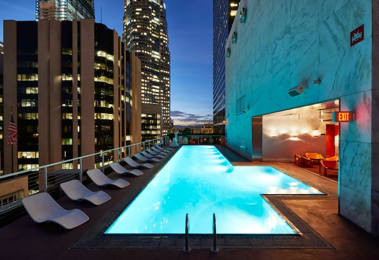 The Standard Downtown LA, Los Angeles, Zwembad