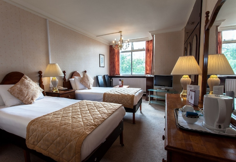 Hampstead Britannia Hotel, London, Standard-Zweibettzimmer, Zimmer