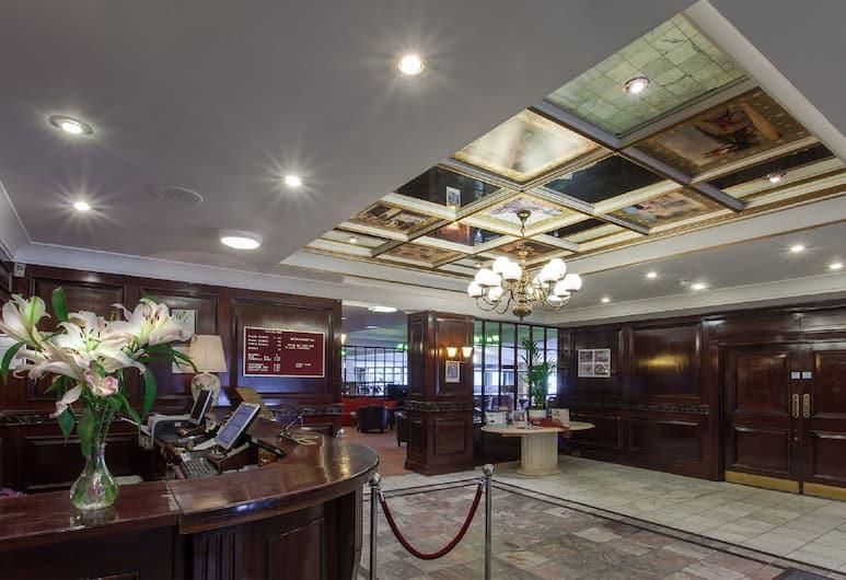 Hampstead Britannia Hotel, Londýn, Interiér hotelu