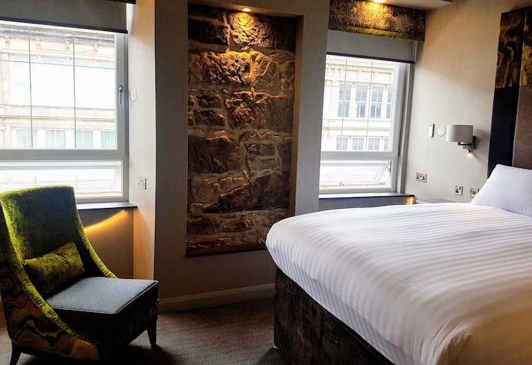 Rennie Mackintosh Station Hotel, Glasgow, Deluxe Room (King), Guest Room