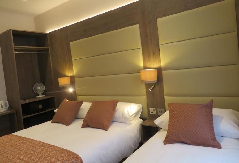 Glendale Hyde Park Hotel, London, Standard-Dreibettzimmer, 1 Schlafzimmer, eigenes Bad, Stadtblick, Zimmer