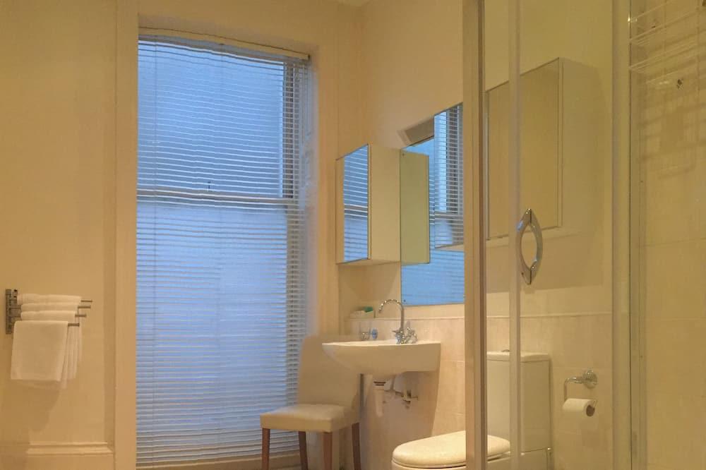 Family Room, Kitchenette - Bathroom