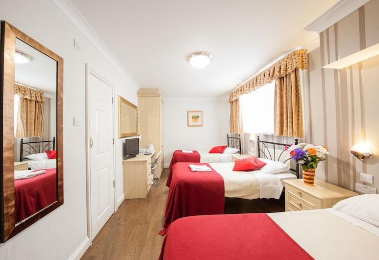 The Fairway Hotel, London, Vierbettzimmer, mit Bad, Zimmer