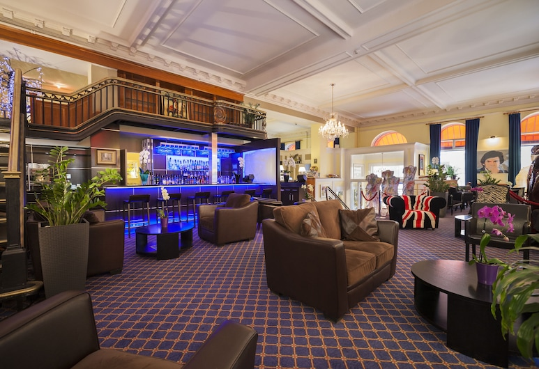 LHotel Montreal, Montreal, Sala de estar en el lobby